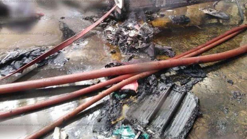 حريق محطة قطار رمسيس