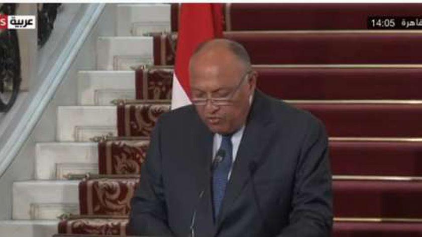 السفير سامح شكري .. وزير الخارجية المصري