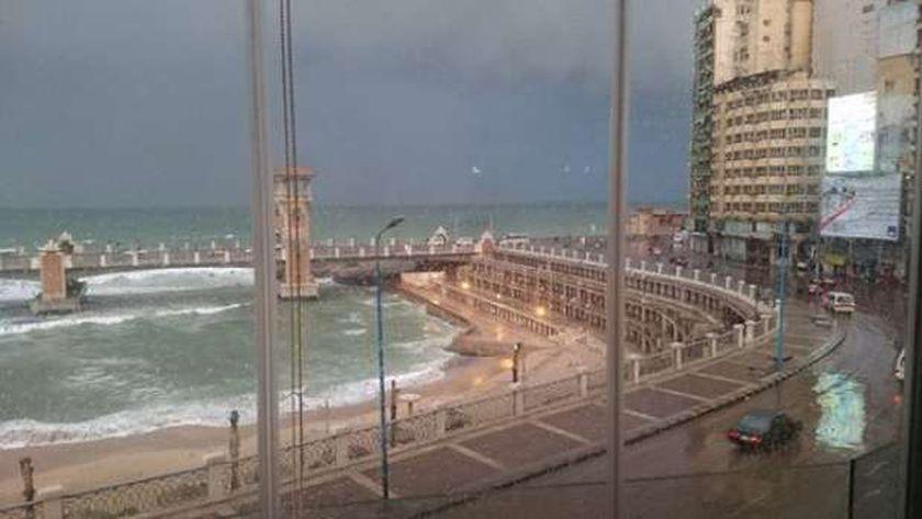 الإسكندرية في الشتاء