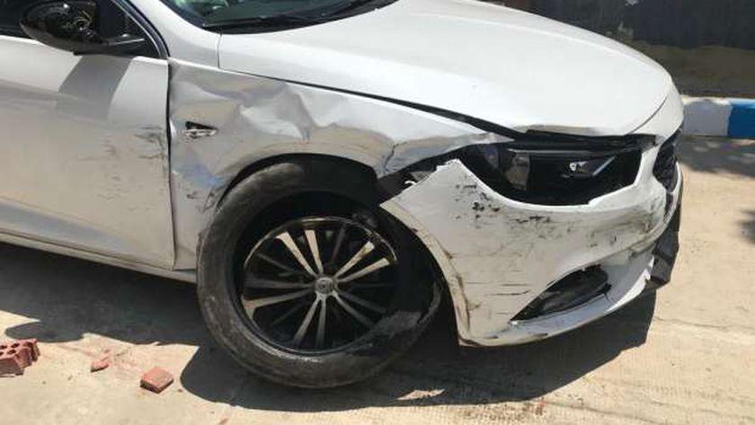 حادث سيارة مدير أعمال حمو بيكا