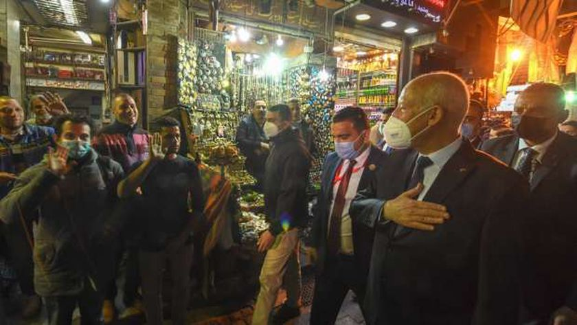 الرئيس التونسي خلال زيارته لمصر
