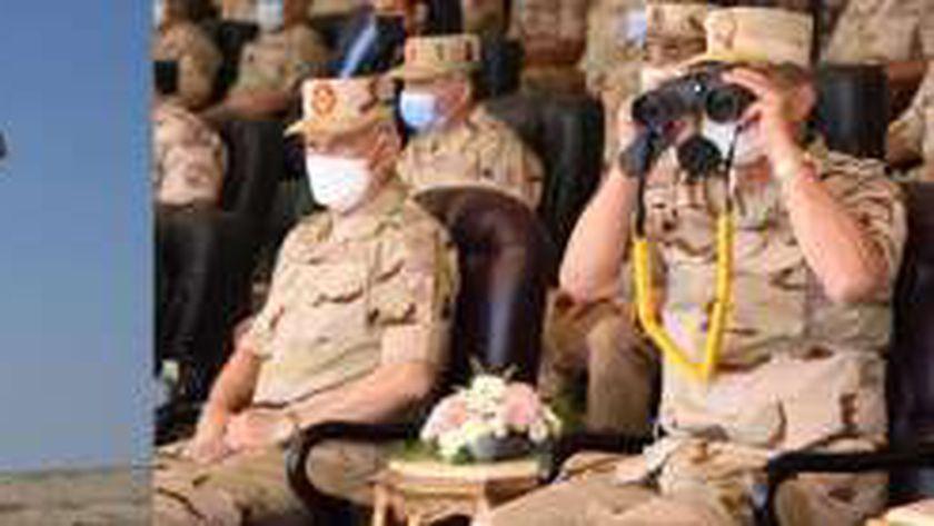 عاجل.. وزير الدفاع يشهد المرحلة الرئيسية للمناورة «رعد 5» (فيديو)