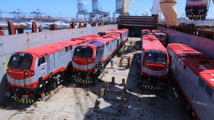 قطارات سكة حديد