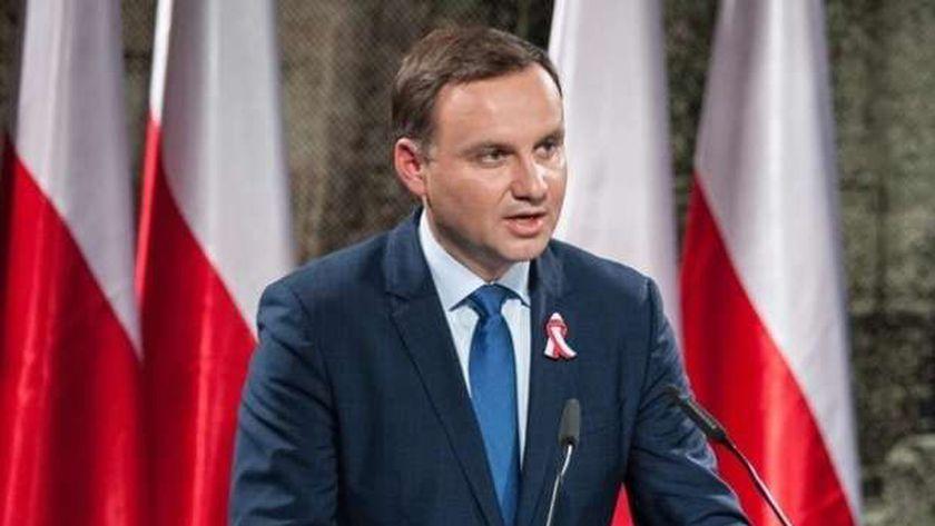 رئيس بولندا  أندريه دودا