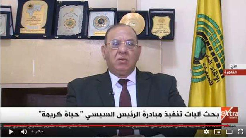 الدكتور طلعت عبدالقوي رئيس الاتحاد العام للجمعيات الأهلية