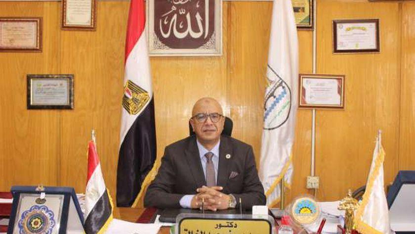 الدكتور محمد يوسف عبد الخالق وكيل وزارة الصحة ببني سويف