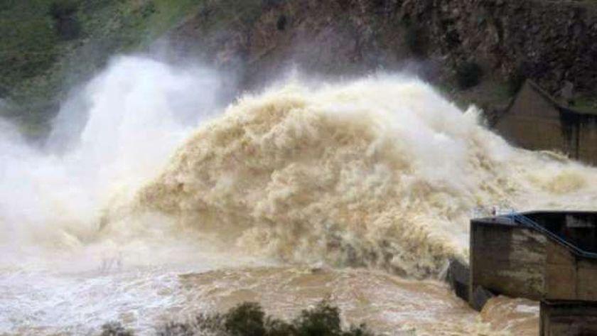 ارتفاع مناسيب نهر النيل في السودان