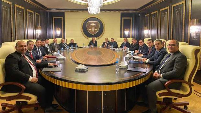 مجلس إدارة نادي القضاة