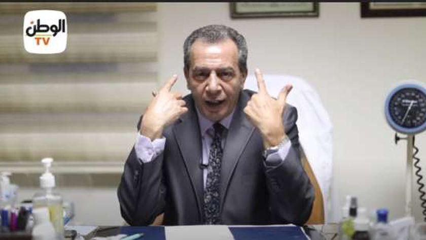 الدكتور أشرف عقبة رئيس قسم المناعة بجامعة عين شمس