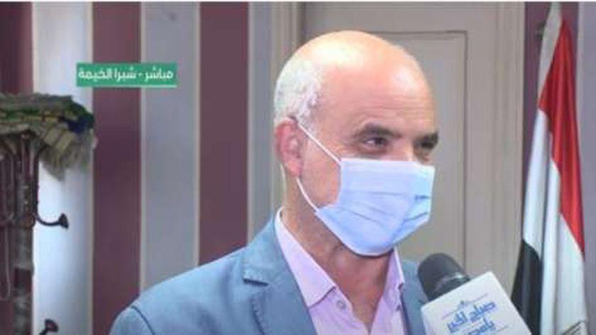 الدكتور بكر عبدالمنعم رئيس حي شرق شبرا الخيمة بمحافظة القليوبية