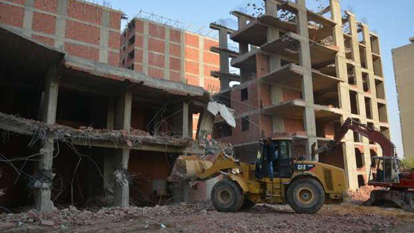 جهود الدولة لمواجهة مخالفات البناء