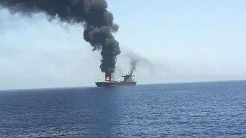 استهداف سابق لسفينة إسرائيلية (أرشيفية)