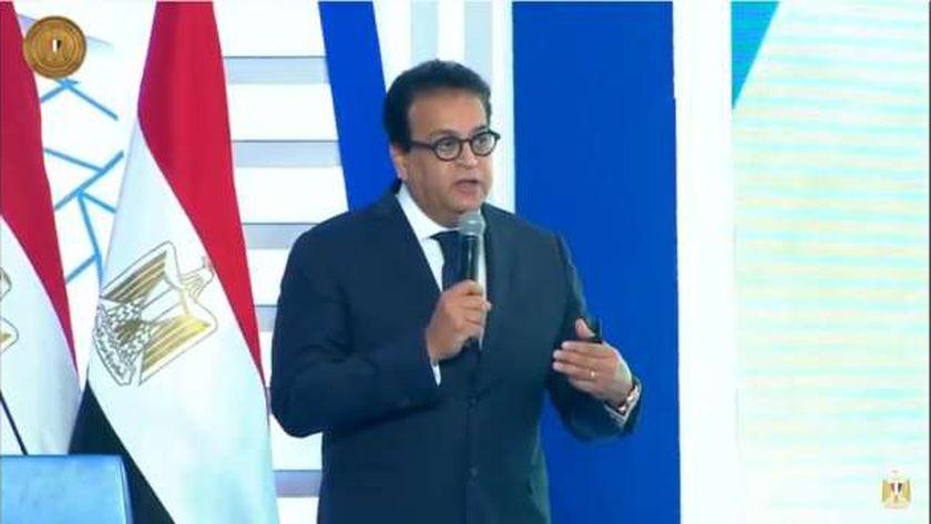 وزير التعليم العالي والبحث العلمي الدكتور خالد عبدالغفار