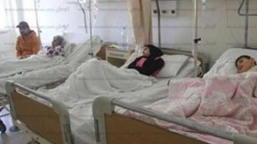إصابة أشخاص بينهم ٣ أطفال بتسمم غذائي بسوهاج