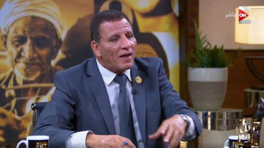 عبد الفتاح محمد أمين سر لجنة القوى العاملة بمجلس النواب