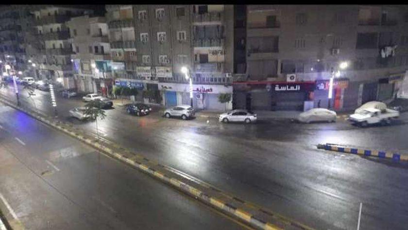 سقوط أمطار خفيفة علي المنوفية