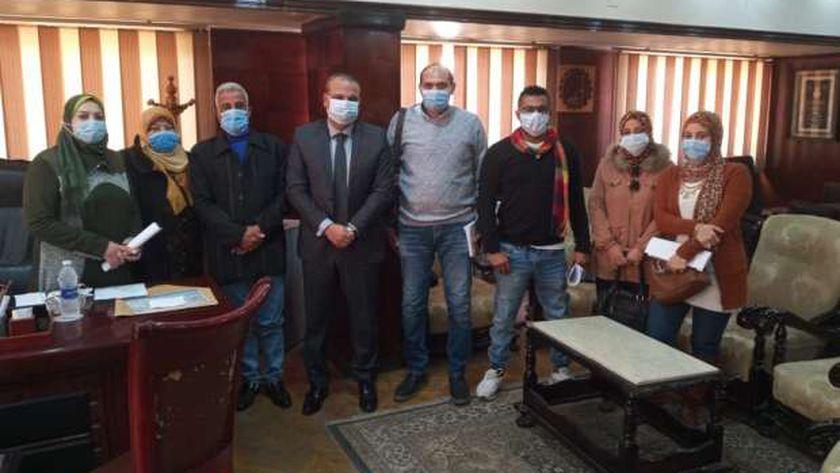 د. محمود زكي: إنشاء كليات جديدة بجيبوتي بالتعاون مع جامعة طنطا