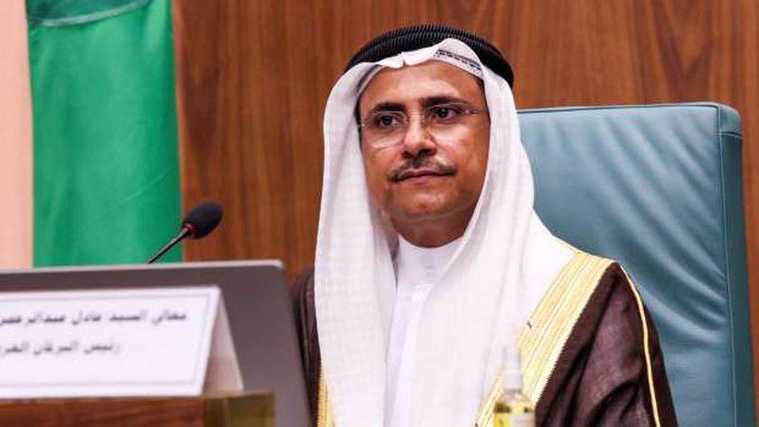 السيد عادل بن عبدالرحمن العسومي رئيس البرلمان العربي