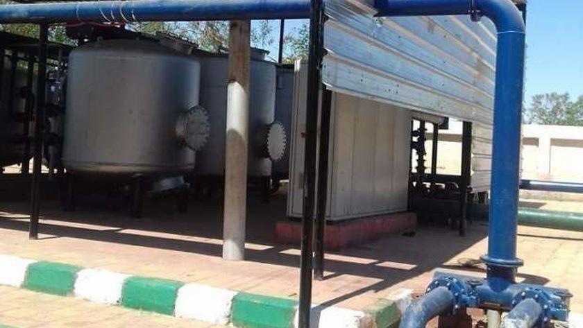 محطة تنفية مياه شرب بالوادي الجديد