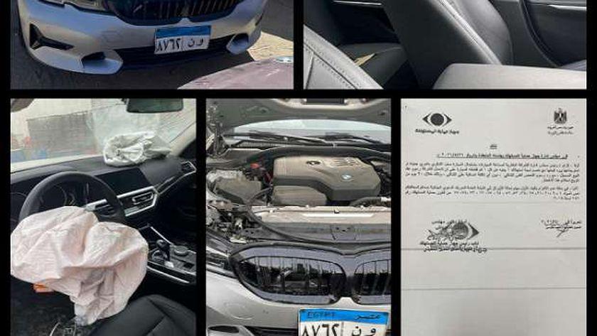 سيارة BMW 320 موديل العام 2020