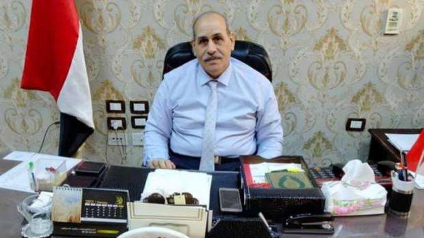المهندس وصفي عبد الله وكيل وزارة التموين ببني سويف