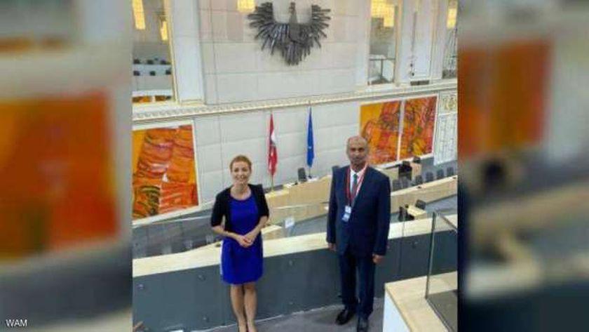 رئيس المجلس العالمي للتسامح وإيفا ديزدزيك