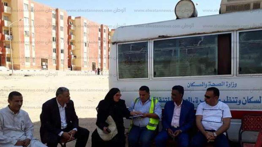 منظمة حقوقية تنظم قافلة طبية بالمجاورة 25 بالعاشر من رمضان
