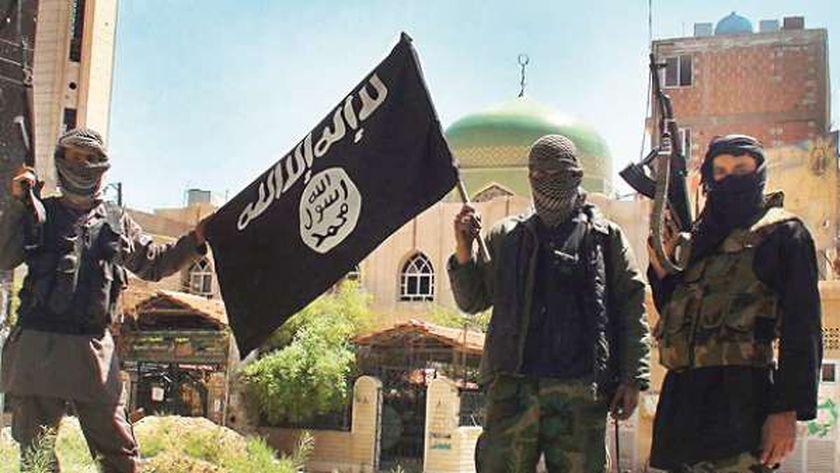 """عناصر بتنظيم """"داعش"""" الإرهابي"""