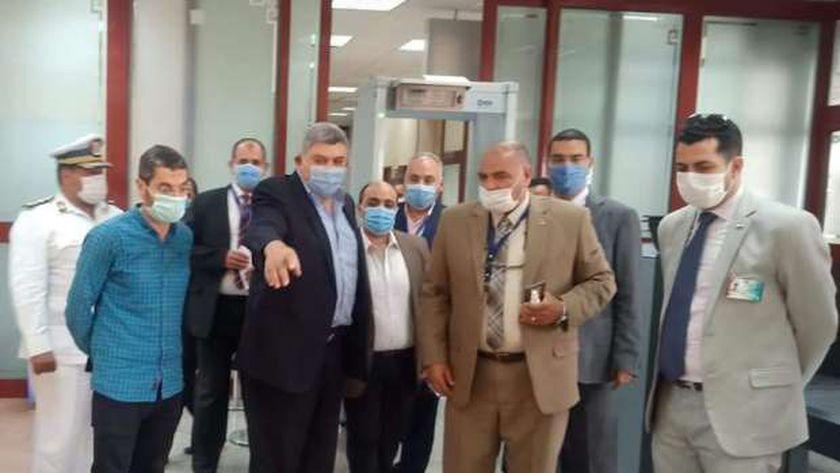 اللواء إيهاب طه رئيساً للإدارة المركزية لشئون مكتب وزير الطيران