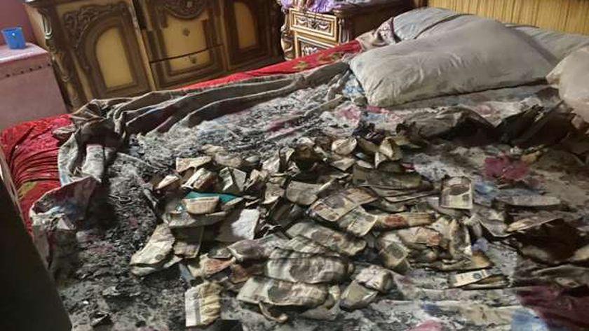 حرائق غامضة منذ عامين تهدد أسرة في قرية الزارة بسوهاج