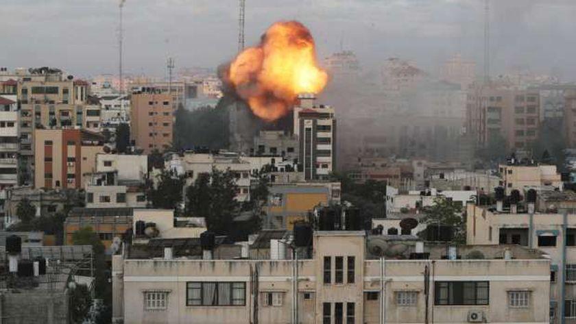 قصف الاحتلال على غزة