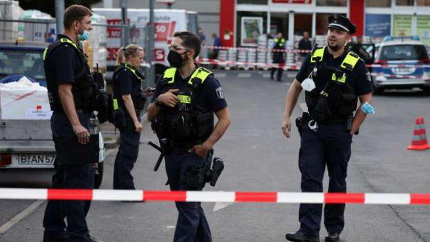 موقع حادث اطلاق النار ببرلين
