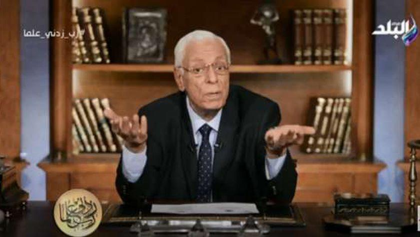 الدكتور حسام موافي، أستاذ طب الحالات الحرجة بالقصر العيني
