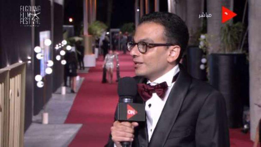 المخرج أمير رمسيس، المدير الفني لمهرجان الجونة السينمائي