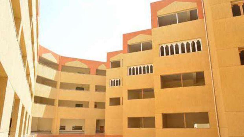 المدن الجامعية بجامعة الأقصر