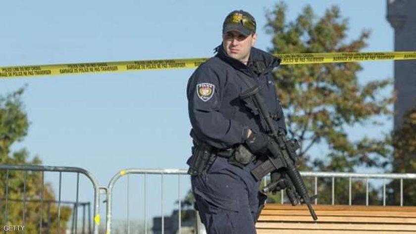 عنصر من الشرطة الكندية