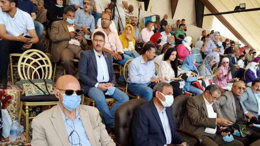 جانب من مهرجان الخيول العربية في بلبيس
