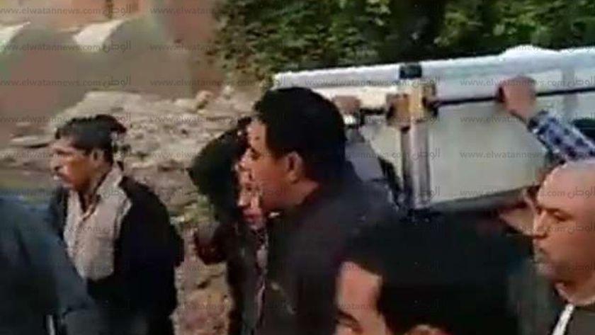 جنازة الراحل شعبان عبد الرحيم