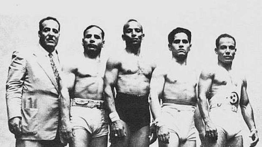 الرباعون المصريون في أولمبياد 1936