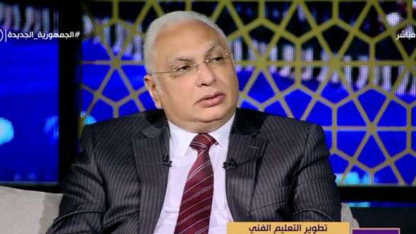الدكتور عمرو بصيلة.. رئيس الادارة المركزية للتعليم الفني بوزارة التربية والتعليم