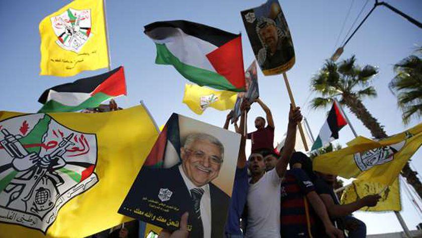 احدى فعاليات حركة التحرير الفلسطيني (فتح)