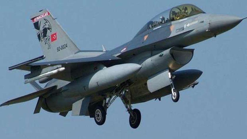 طائرة حربية تركية - أرشيفية