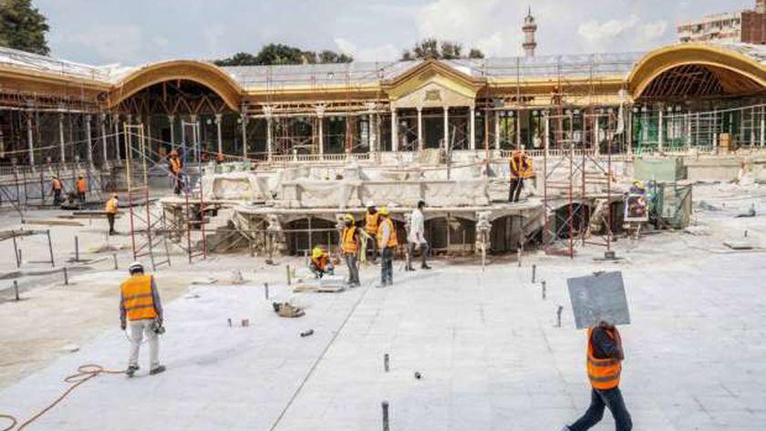ترميم قصر محمد علي
