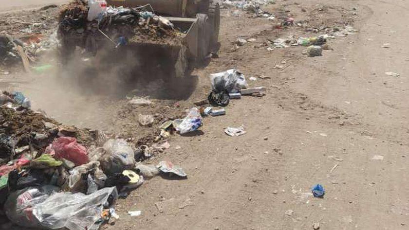 حملات نظافة مكبرة في المحلة