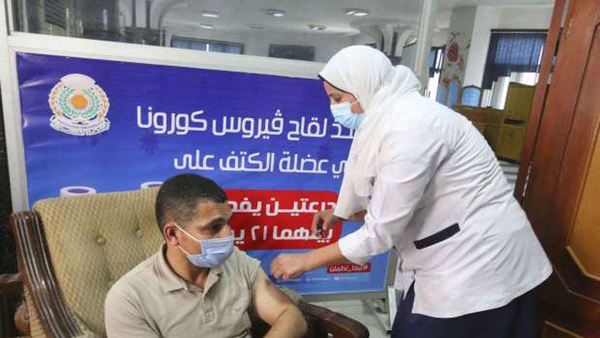 صحة الفيوم تطعم 72 ألف مواطن بلقاح فيروس كورونا
