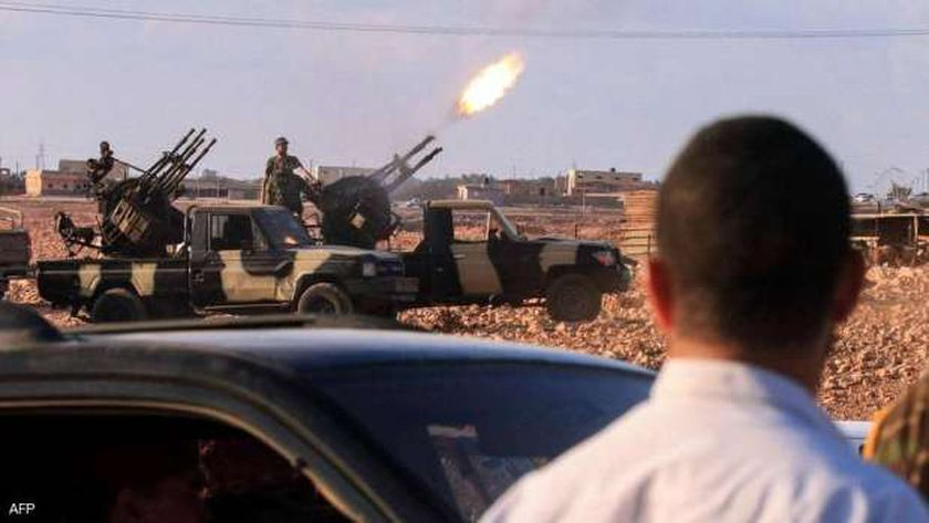 القتال في ليبيا- أرشيفية