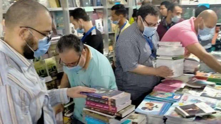 جناح قصور الثقافة في معرض الكتاب بالإسكندرية