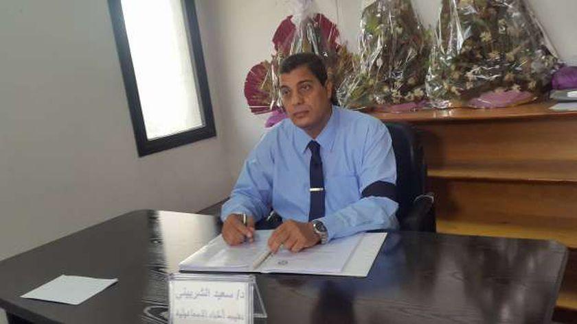 الدكتور سعيد الشربيني نقيب أطباء الإسماعيلية