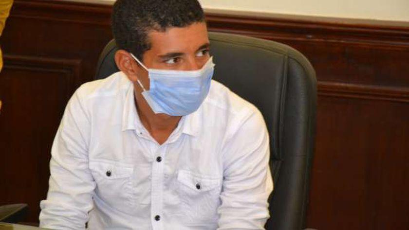 الطالب ابراهيم عبد الناصر راضي رجب بائع الفريسكا