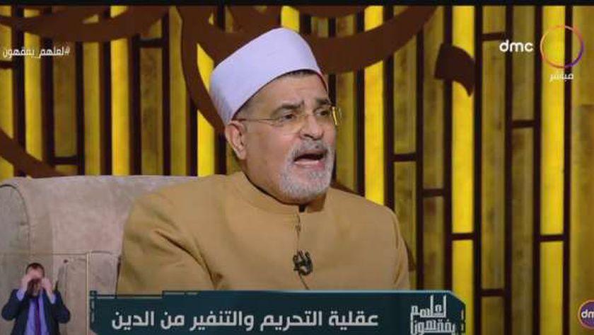 الشيخ محمد سالم أبو عاصي، عميد كلية الدراسات الإسلامية الأسبق بجامعة الأزهر الشريف